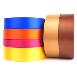 single sided satin ribbon