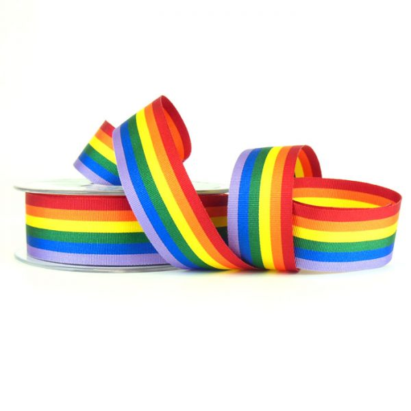 Berisfords 60003 rainbow ribbon