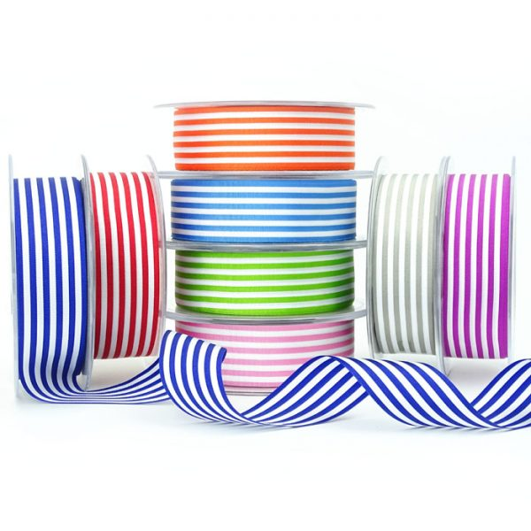 berisfords striped ribbon 43152