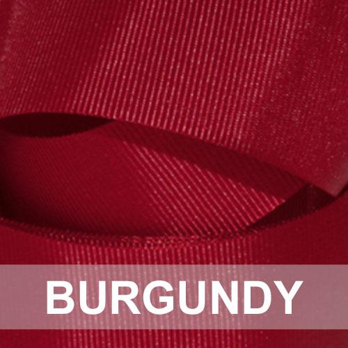 burgundy grosgrain