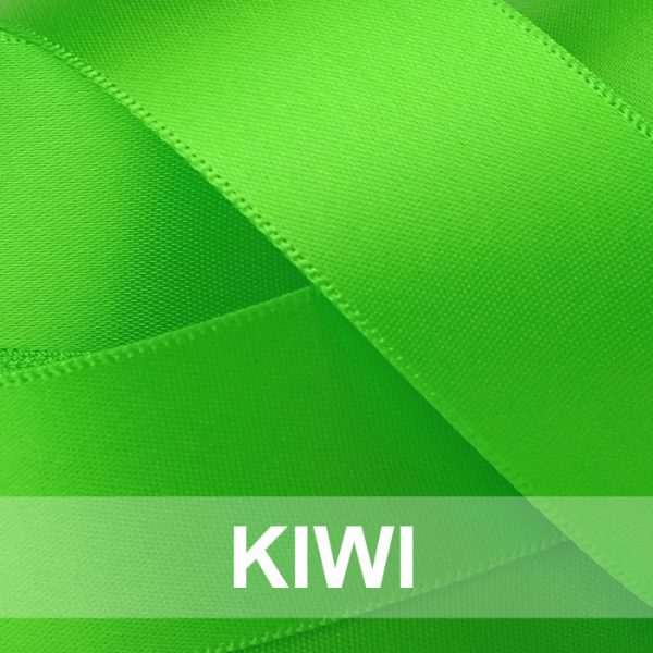 kiwi satin ribbon