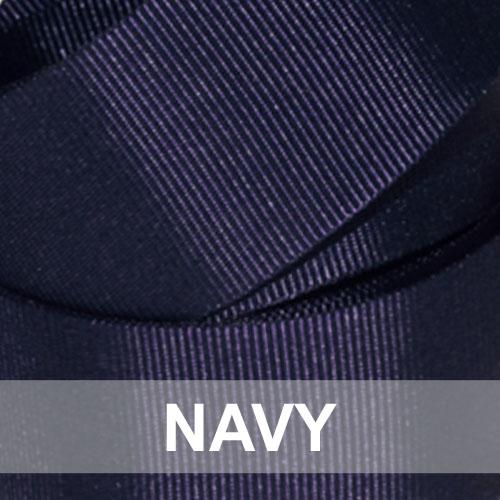 navy grosgrain