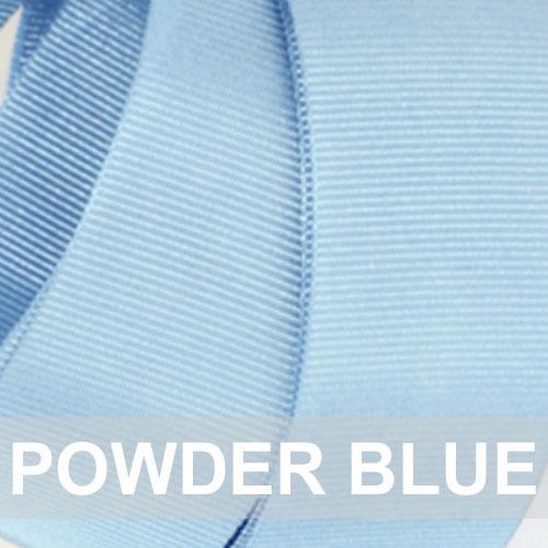 powder blue grosgrain
