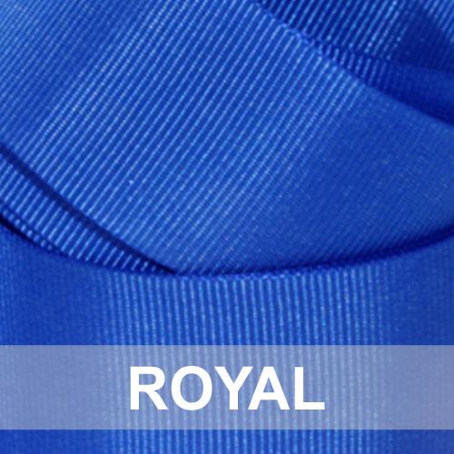 royal blue grosgrain
