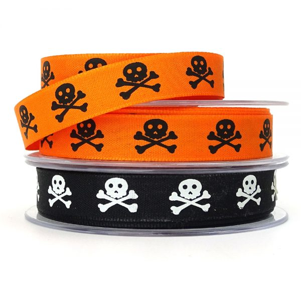 berisfords skull and bones ribbon
