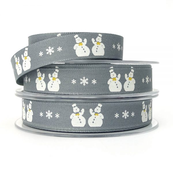 snowmen 14300 col.2 grey ribbon