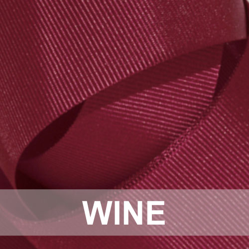 wine grosgrain