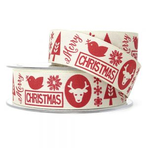 berisfords christmas motif 14448 ribbon