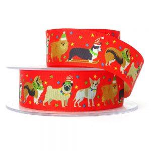 berisfords 80352 festive pets christmas ribbon col 1