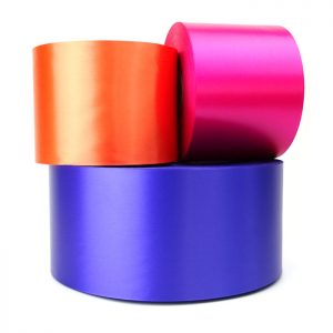 100mm polyester sash ribbon