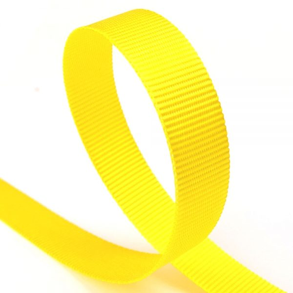 10mm sunflower grosgrain