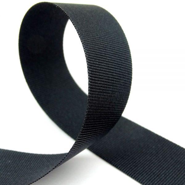 cheap black grosgrain ribbon