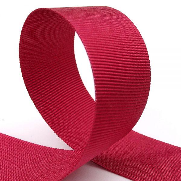 25mm merlot grosgrain ribbon