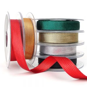 berisfords textured metallic ribbon