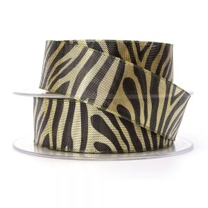 Berisfords zebra stripe 80571 gold col.1