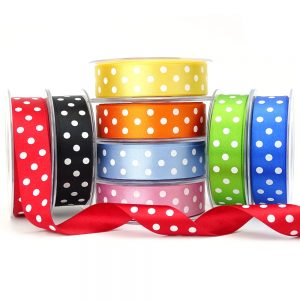 berisfords 12251 polka dot ribbon