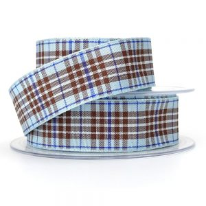 9437 blueberry tartan ribbon