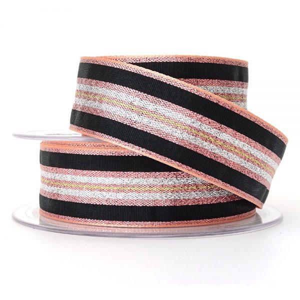 col 1 winter stripe ribbon berisfords 60175
