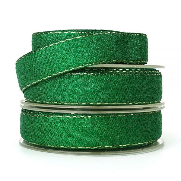 green lurex ribbon