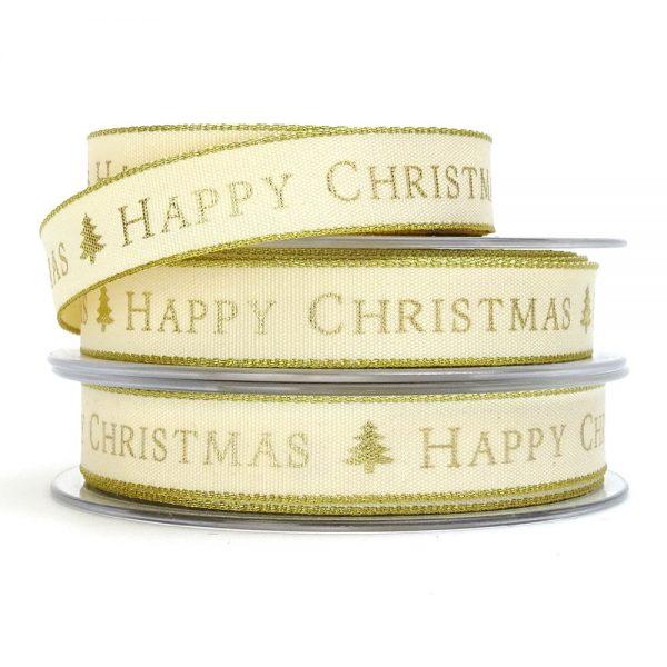 berisfords 13871 happy christmas ribbon col2