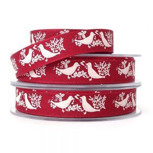 berisfords 14280 turtle dove christmas ribbon col2