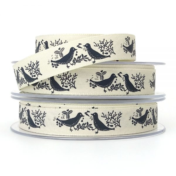berisfords 14280 turtle dove christmas ribbon col6