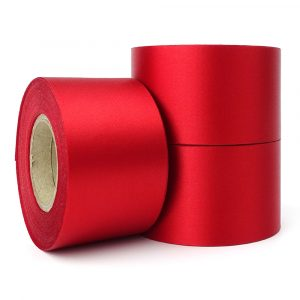 48mm red christmas ribbon