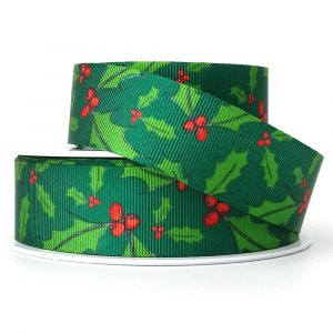 berisfords holly berry ribbon 80569 col 2