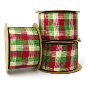 country tartan ribbon