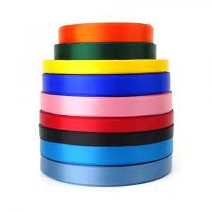 3mm 5mm double sided satin ribbon