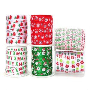 10mm fun christmas ribbon pack