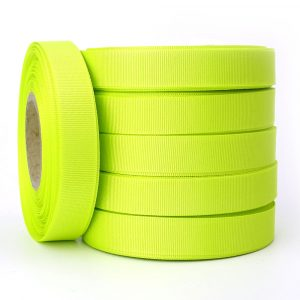 15mm acid grosgrain ribbon