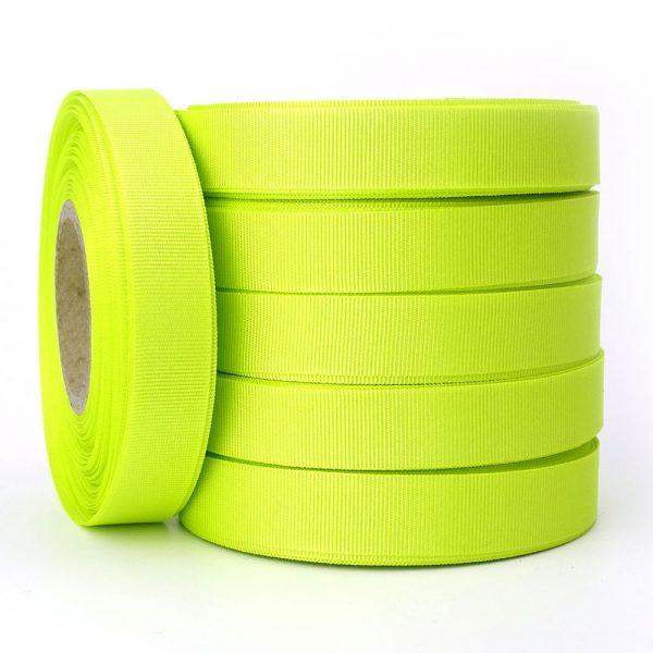 15mm acid grosgrain ribbon