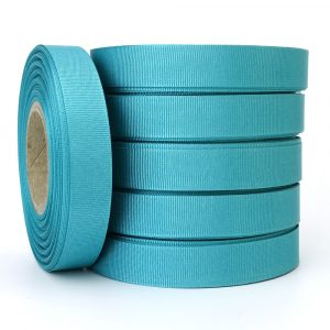 15mm jade grosgrain ribbon