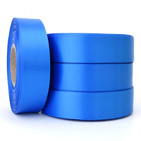 cobalt blue satin ribbon