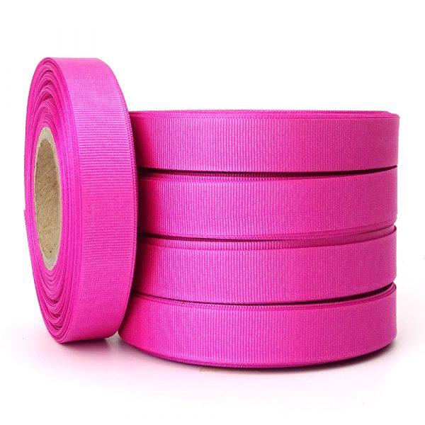 hot pink grosgrain 15mm