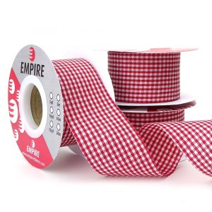 40mm gingham empire ribbons 780048